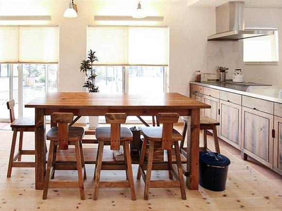 キッチン向け造作家具